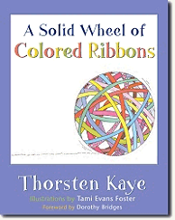 A Solid Wheel of Colored Ribbons
